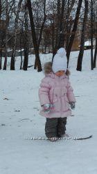 Зимний комплект для девочки Baby Line на пуху