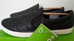 Слипоны с блестками Crocs Shimmer CitiLane W9, W11. Оригинал, Америка