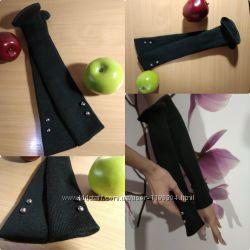 Перчатки длинные за локоть без пальцев митенки в стиле Ретро Винтаж Подарок