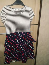 Платье летнее нарядное на море AGE 7-9лет