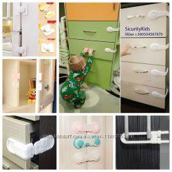 Защита от детей на ящики, Замки от детейфиксаторы, блокаторы, заглушки