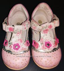 Туфельки в стиле прованс для нежной девочки