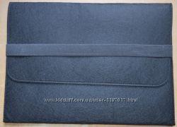 Универсальный войлочный чехол для Macbook 11, 6 или 13, 3 дюймов на резинке