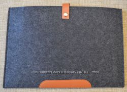 Универсальный войлочный чехол для Macbook air 13, 3 на кнопке