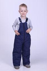 Зимний полукомбинезон для детей 98-122 рост