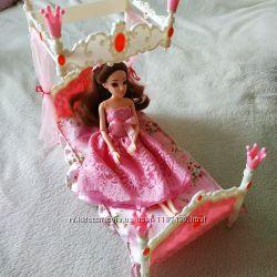 Кровать для кукол Барби