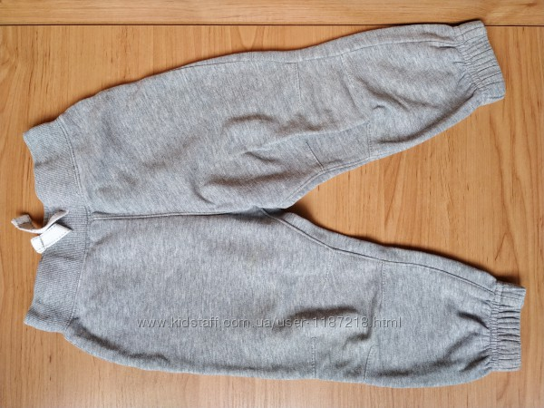 Серые спортивные штаны для мальчика