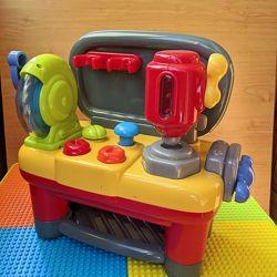 Музыкальная игрушка станок верстак для мальчиков ELC mothercare