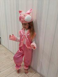 Свинка, хрюшка детский новогодний карнавальный костюм