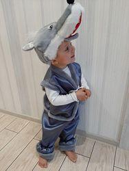 Карнавальный костюм Волка новогодний