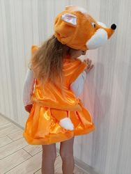 Лиса детский карнавальный костюм