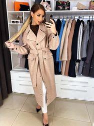 Пальто Бэтти шерсть с подкладкой, весна-осень, размер 42, 44, 46, 48