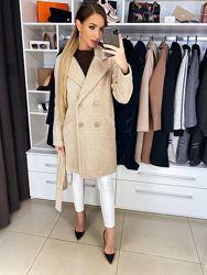 Пальто Мими шерсть, весна-осень, размер 42, 44, 46