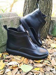 Ботинки натуральная кожа и замша зимние и демисезонные