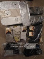 Носки короткие, спортивные, следы, женские и мужские