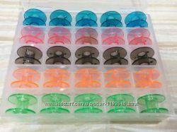 Шпульки бытовые пластмассовые, набор, мел портновский, мыло