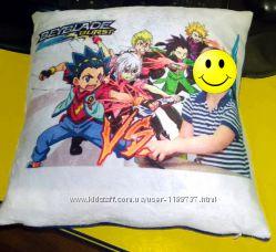 Печать на подушке, фото на подушках