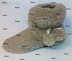 26b1e6464976d Тапочки-сапожки меховые с бубонами, 150 грн. Женская домашняя обувь ...