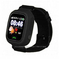 Smart Baby Watch Q100 BatMan. Детские часы с GPS трекером. Новинка