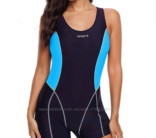 Женский купальник для плавания шортиками
