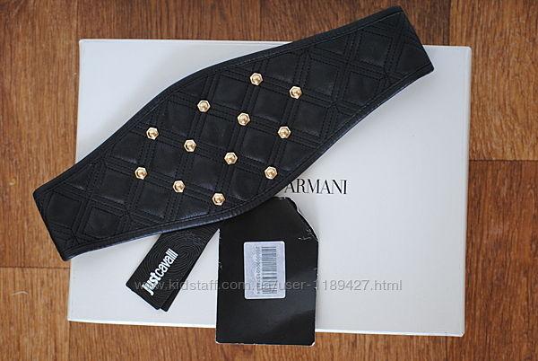 Новый кожаный ремень Just Cavalli оригинал