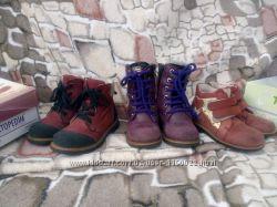 Зимние сапоги 26 р. ,ботинки 25, 26 рр. ,ортопедические, Topi top, Tofino, Woopy