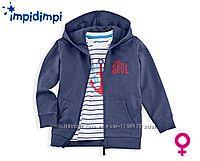 Фирменный комплект Impidimpi для девочки раз. 86-92 футболка и кофта