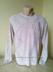 Распродажа свитер мужской лён 100 проц Турция прекрасное качество