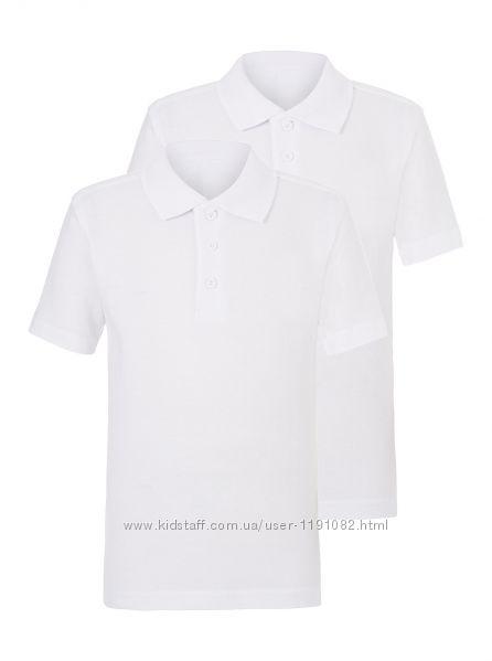 Школьная футболка-поло George, от 6 до 14лет
