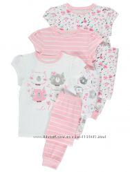 Пижама для девочки George Код. 180505