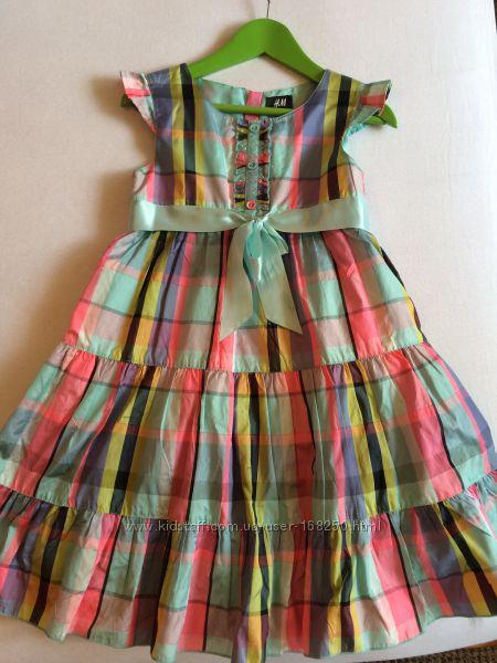 Платье H&M, рост 128.