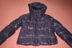 куртка пуховик подростковая Beneton на рост 150 160 см
