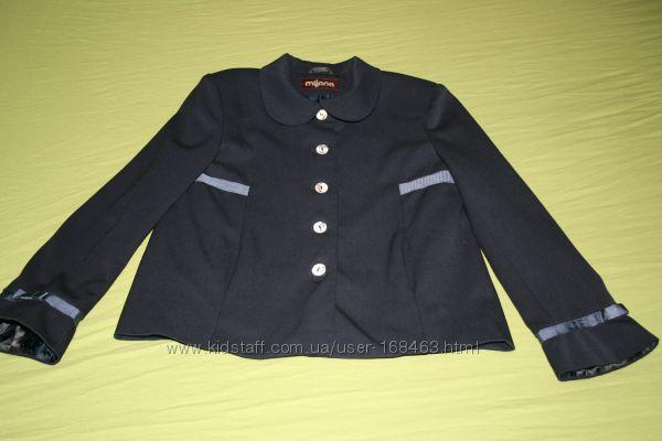 школьный пиджак Милана, рост 146, темно-синий