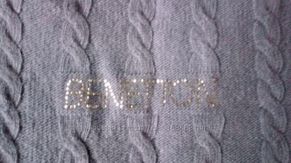 фирменный свитер Benetton ангора, на 10-11лет