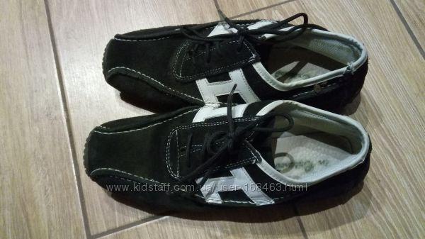 Стильные кроссовки, замш, р. 37, по стельке 24см