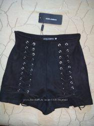 Шикарнейшие шортики шнуровка DG - Мка бедра 95-99 см