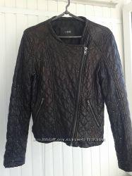Кожаная куртка Mango s m