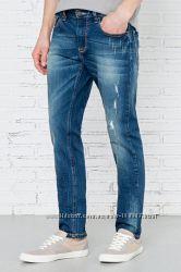 Стильные мужские джинсы Springfield, 32, 34, 36, 38р, высокий рост, Испания