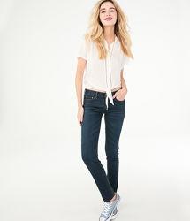 Базовые джинсы Aeropostale, XS, S, высокий рост, оригинал США