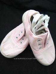 Кеды нежно розовые для девочки 8 рр