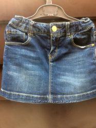 джинсовая юбка ZARA девочке