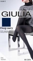 Колготки с рисунком SOLANA 80 ден Giulia