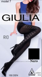 Тёплые матовые колготки Rio 150 Giulia