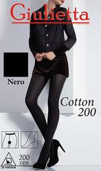 Теплые колготки из хлопка COTTON 200