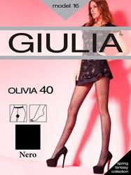 Колготки с рисунком Olivia 40