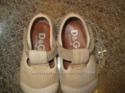 Брендовые сандали макасины тапочки Dolce gabbana D&g junior оригинал