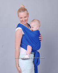 Трикотажный слинг - шарф Индиго от ForKids. Мобильность с младенцем