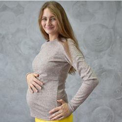 Лонгслив для кормления - лучший секрет для ГВ у нас. Подходит беременным