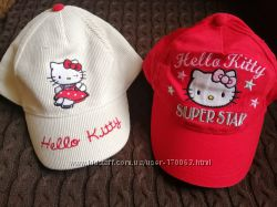Две новые кепки с Hello Kitty
