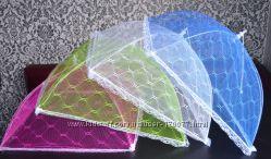 Сетка зонтик купол защита от мух, пчел, мелкого сора для дачи, природы, мор